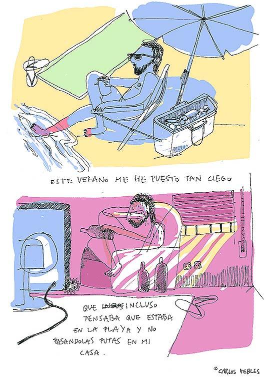 Ilustración de CARLOS HEBLES