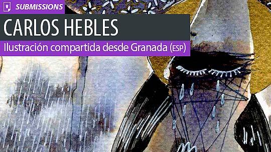 Ilustración. Santo entierro de CARLOS HEBLES