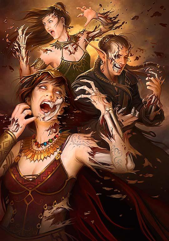 Ilustración fantástica y pintura de HOWARD LYON