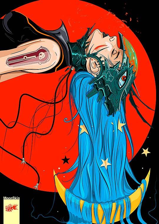Ilustración de VÍCTOR YÁÑEZ aka Ferkad