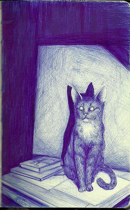 Ilustración de ANDRÉS RIVILLAS aka Louis Necromi