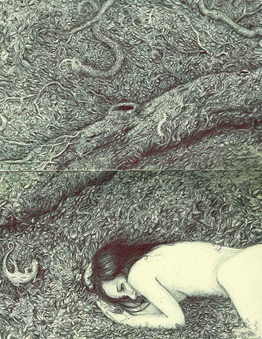 Ilustración. Boceto 15 de ANDRÉS RIVILLAS aka Louis Necromi