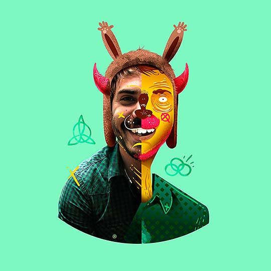 Re-visiones de rostros en B-side de CRISTHIAN RAMÍREZ