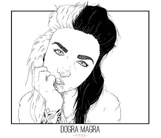 Ilustración de DOGRA MAGRA