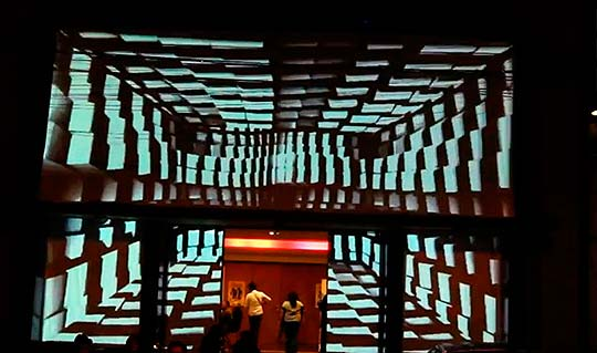 Video mapping de LAURA RAMIREZ (OPTIKA)