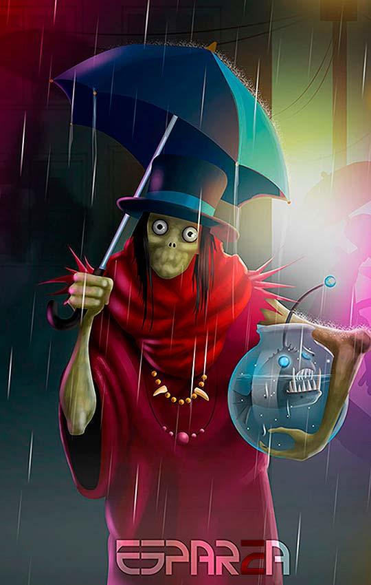 Ilustración de ROBERTO ESPARZA