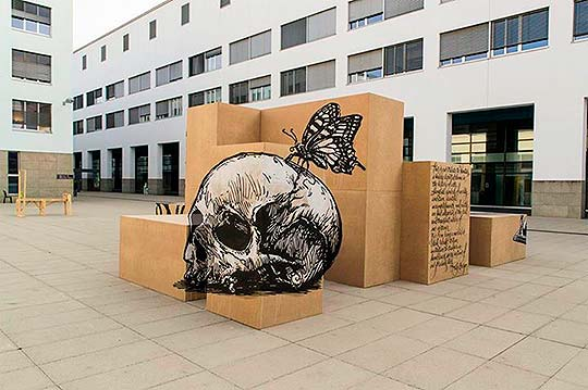 http://www.colectivobicicleta.com/Arte urbano, pintura y muralismo de TRULY DESIGN