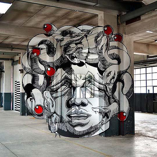 Arte urbano, pintura y muralismo de TRULY DESIGN