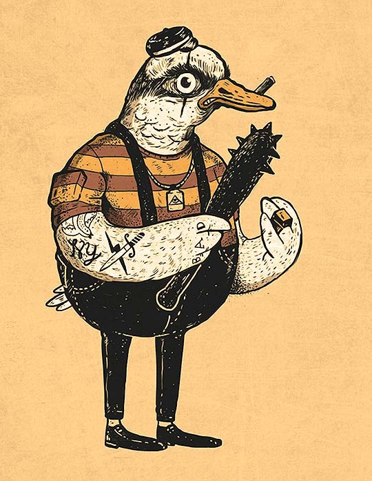 Ilustración. Mermann de DIEGO BEDOYA