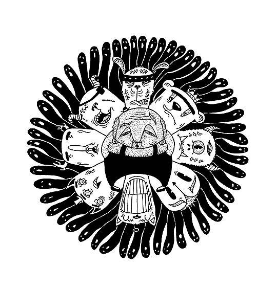 Ilustración de MICKAEL BRANA aka Patiño