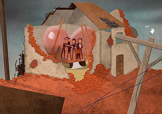 Ilustracion de Camilo Londoño aka Pinguino