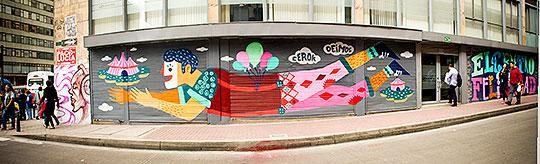 Arte urbano, letras y mucho color con CEROKER