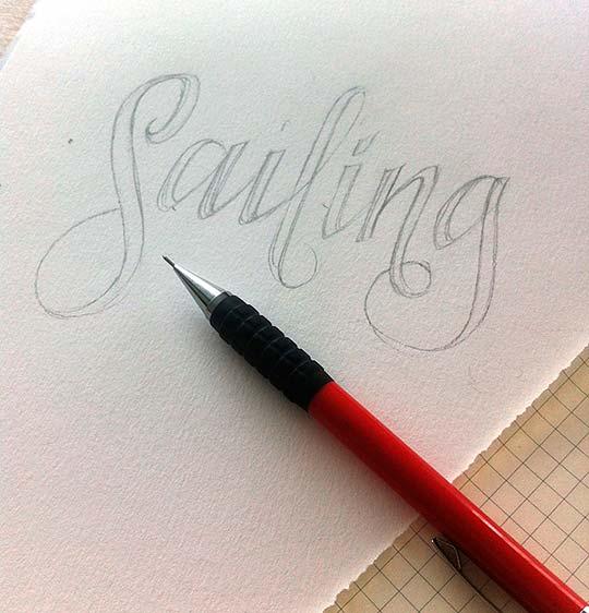 Diseño, caligrafía e ilustración de DANI LOUREIRO