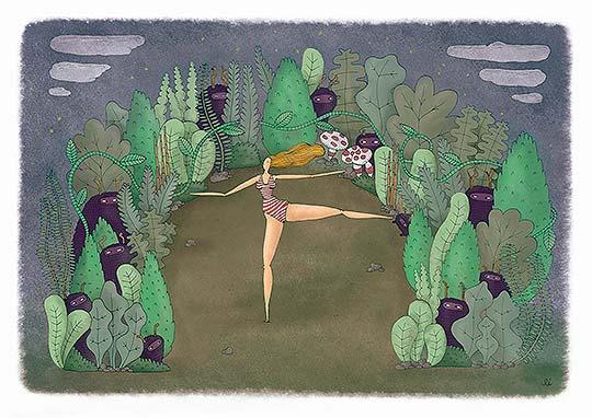 Ilustración de Leandro Mangado