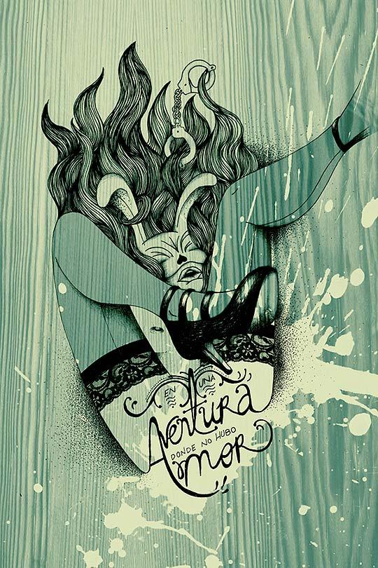 Ilustración de MARÍA LÓPEZ aka Juepuchaaa!