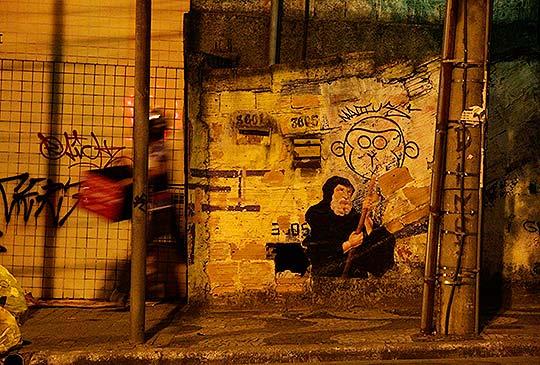 http://www.colectivobicicleta.com/Arte urbano desde los museos en OUTINGS PROJECT
