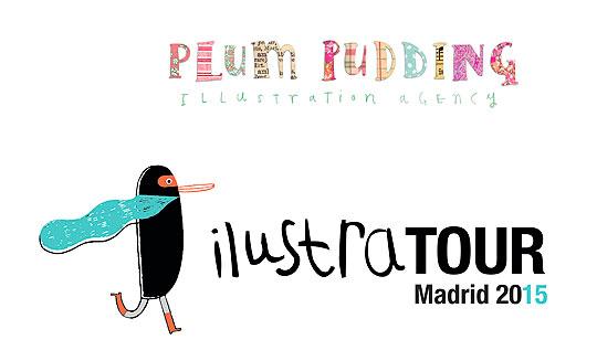 Concurso de Ilustración. Plum Pudding Prize en ILUSTRATOUR 2015.