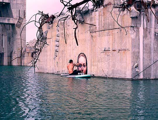 Arte urbano y pintura de Sean Yoro aka HULA