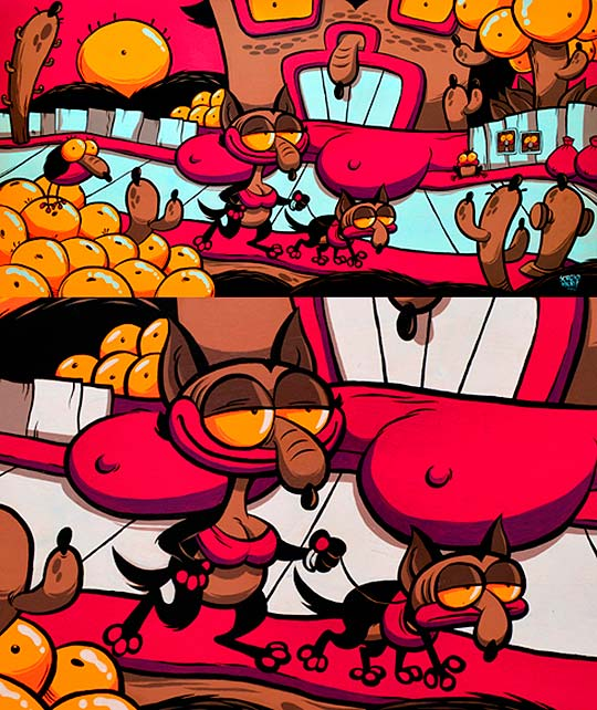 Ilustración, humor y colorido de SERGIO NERI