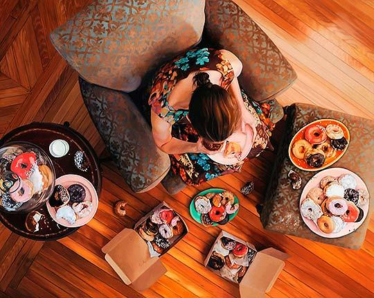Comer, beber, pintar y sorprender con LEE PRICE