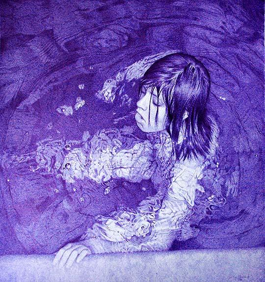 Dibujo y pintura hiperrealista de NATHAN LORENZANA