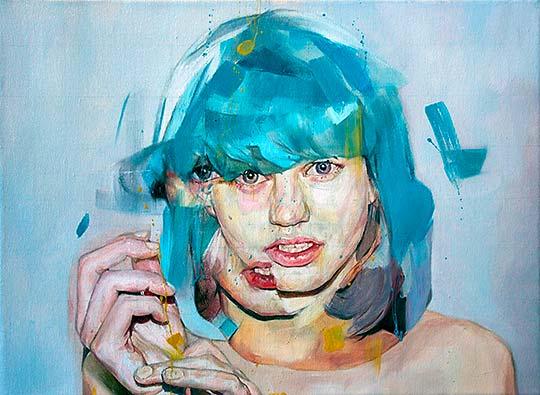 Pintura, colorido y mujeres con BENJAMIN GARCÍA