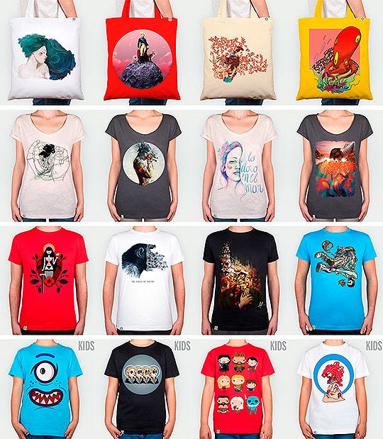 COTÓGRAPHIX. Comunidad promotora de artistas mediante prendas de vestir
