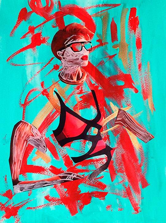 Pintura de MARCHE ZAPATA