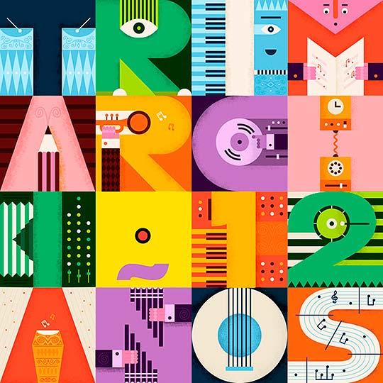 Ilustración, diseño, color y síntesis de MARTÍN AZAMBUJA